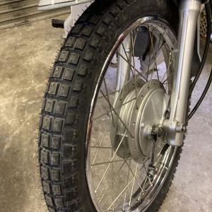 HONDA SuperCub110 JA07 ホンダ スーパーカブ110 タイヤ交換