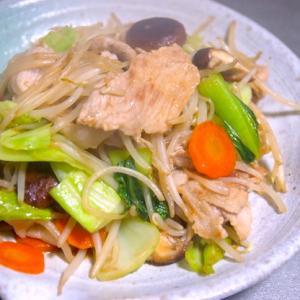 オットが喜んだ「昭和な野菜炒め」