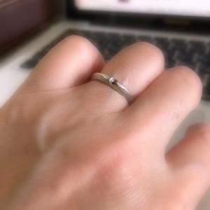 ついに指輪を外す悲しい日