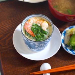 中華風で大正解「ネギ茶碗蒸し」