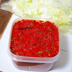 「キムチの素」野菜約4キロ分