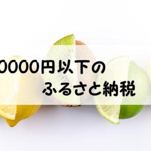 今年はふるさと納税をしたいから1万円までの返礼品を探してみた。