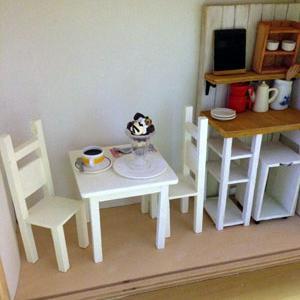 キッチンの板壁と棚を作ろう!