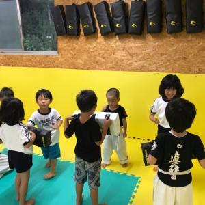 月曜日本部道場初心、初級、選手クラス