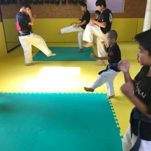 日曜日本部道場強化練習