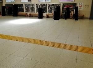 20190425_JR高崎駅に、BUCK-TICKポスター掲出