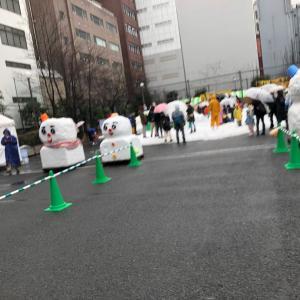 【子育て応援】楽しかった雪だるまフェア2020