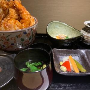 天丼海老祭りだよ!7本海老天丼880円!神田蔵KOKORIに集合
