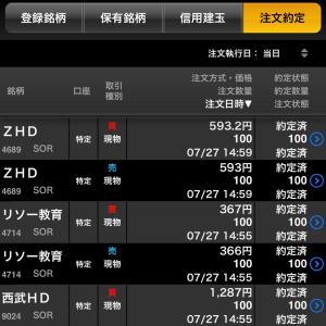【株式投資】7/27と28権利日まとめ!米株決算を気にし日本株と欧州株を忘れり