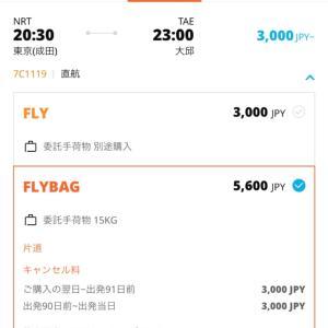 この値段なら即決!出発5日前に決めた10月韓国旅費明細!