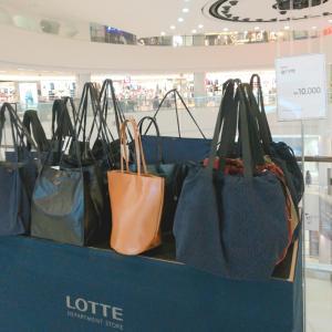 セールでさらに安くなっていた韓国ブランドのバッグ♪