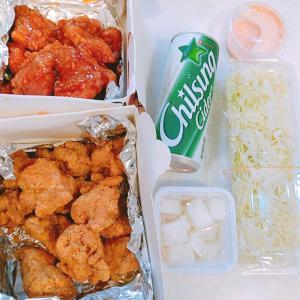 ヤミツキになると噂のチキンが食べたくて、韓国チキンをテイクアウト!