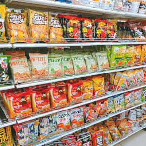 今ハマっている韓国のお菓子をダイソーで発見!