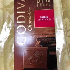 ゴディバ タブレット ミルクチョコレート