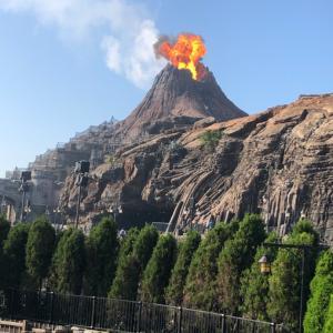 ディズニーシー  プロメテウス火山