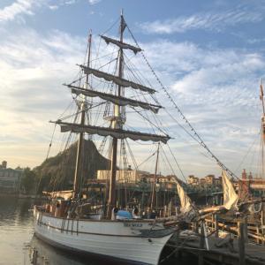 ディズニーシー  帆船
