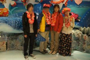 最後の親子旅…④~水族館とライブディナーショー