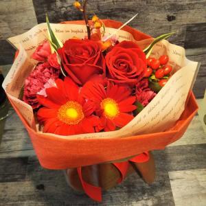 花瓶いらずの花束
