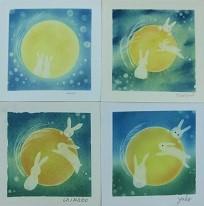 『月うさぎ』 10月1日は中秋の名月