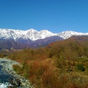 【白馬】雪化粧北アルプスが綺麗だったので、仕事さぼって絶景ポイントへ行ってみた