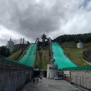 【白馬】村民だけど初めてオリンピック会場のジャンプ台にのぼってみた話