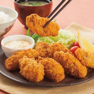 今日は「かきフライ」の日!!大粒の広島産牡蠣はサクサクじゅ~しぃ~!