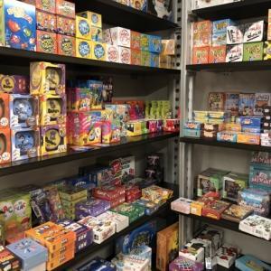ドイツ、べルギーおもちゃ研修58The grass hopper店内