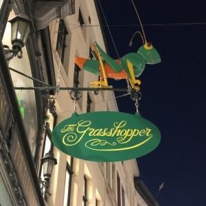 ドイツ、べルギーおもちゃ研修57 The  grass hopperへ