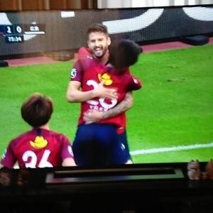 先程のホーム・VS広島、1-0で勝利!