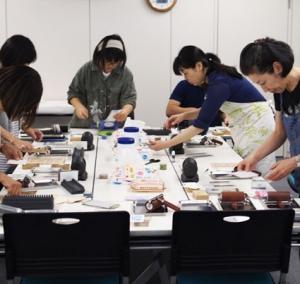 くるくるレタープレス ワークショップ at ペーパーボイス ヴェラム vol.2 4日目 最終日