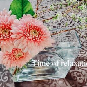 50代、ブログを通しての実ご近所の方とランチ(*^o^*)=八重咲きのガーベラ=【休日編】