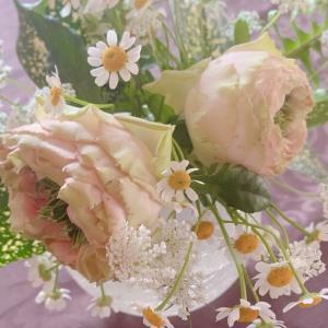 50代、休日はお花を買って来ました(*^o^*)=1日を=【休日編】