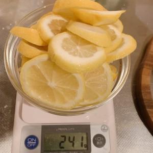 50代、レモン漬けが完成しました\(^o^)/=身体に優しい事を=【チャレンジ】