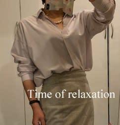 50代、娘チョイスのシャツ2コーデ(*^o^*)=良い人(都合のいい人??)をやめる!!=【気持ちの事】