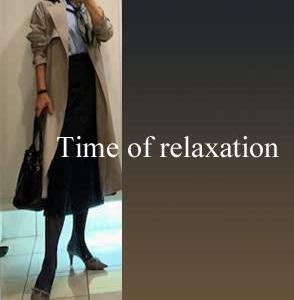 50代、娘に選んで貰ったスカート&お気に入りのシャツコーデ♪♪=スルーする事に罪悪感は無用!=【通勤編】