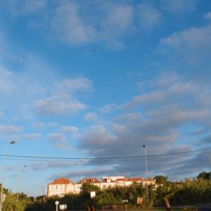 今日の稽古&ランチ 6月6日に雨がザーザー降ってこないポルトガル