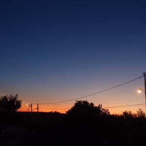 夕暮れ時は寂しそう、月、そして晩酌  9月19日