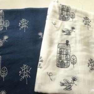 日暮里繊維街で刺繍の生地購入