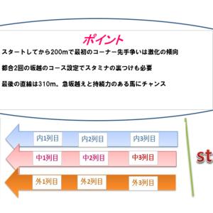 中山記念2021調教・追い切り評価(1週前)厳選の1頭&コース解説