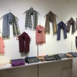 yukikoさんとmarikoさんの手織り作品展