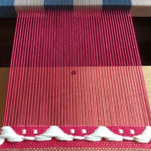 自宅教室に向けて 試し織りを・・・
