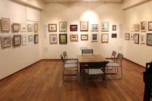 練馬・文化の会美術会 第9<回小品展が始まりました