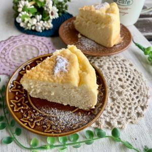 *スフレチーズケーキ*