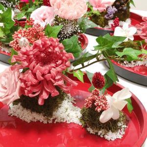 初披露!神戸へ行く◆日本庭園をイメージ~苔玉から作る和風アレンジレッスン~