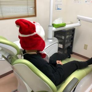 サンタさん早めに来ました🤶🎵   筑紫野市原田 のりこキッズマム歯科医院
