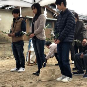 ㊗ZERO-CUBE W様邸地鎮祭☆彡              亥の子祭り