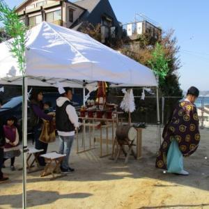 ㊗N様邸地鎮祭。人気上昇中ZEROステップフロア!!       『ワンチーム』
