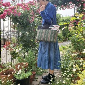 新作キット「リネンのバッグ」で 夏は大人っぽく!