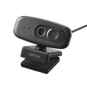 BUFFALO コストパフォーマンスに優れた120°広角webカメラ BSW505MBK