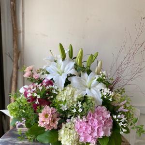 お盆の花贈り